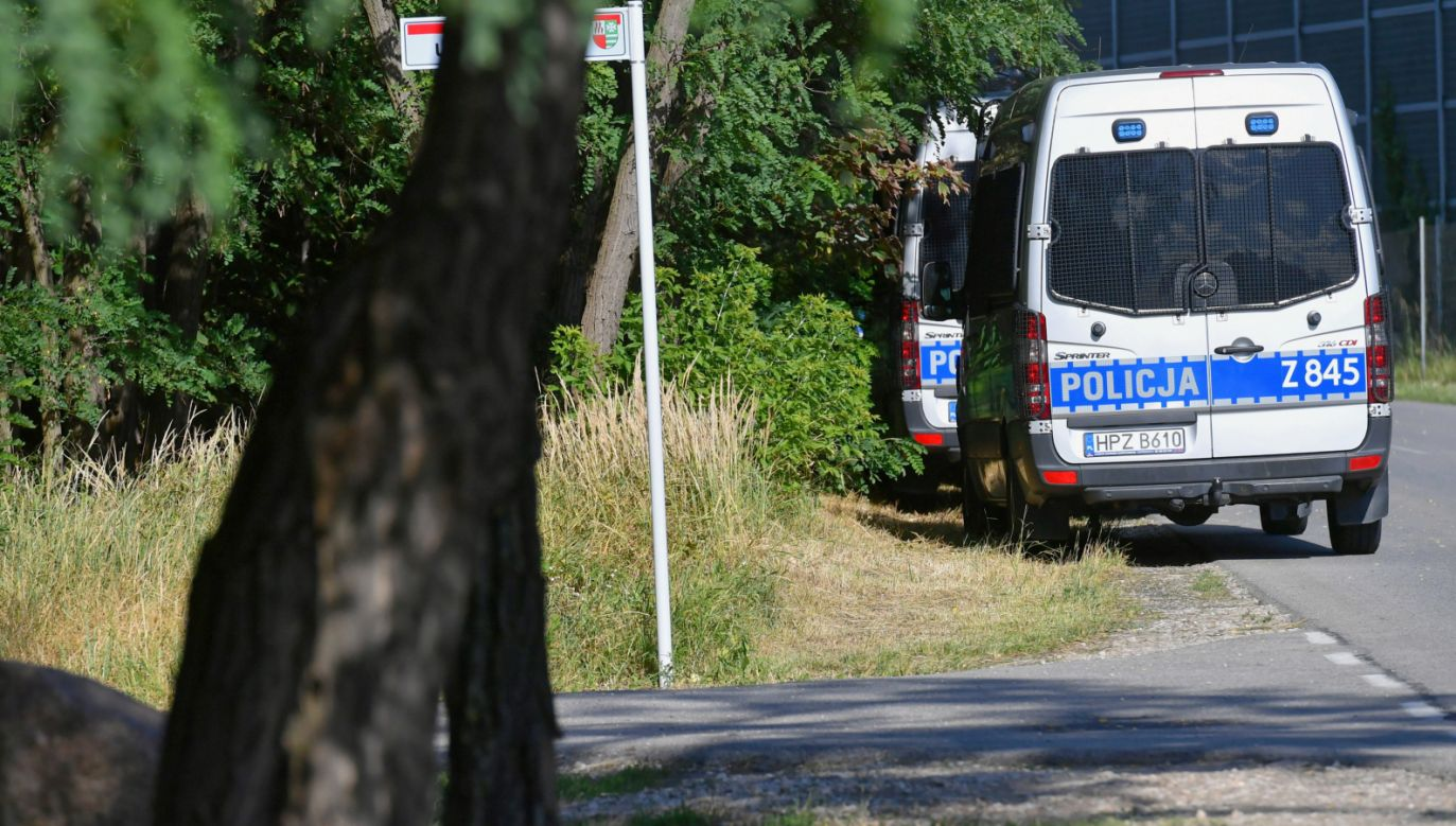 Poszukiwania 5-letniego Dawida (fot. PAP/Piotr Nowak)