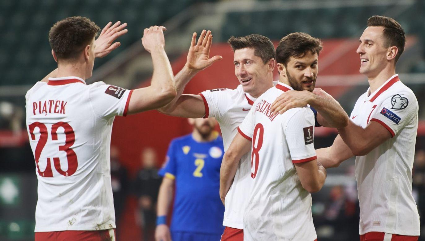 Polacy pokonali Andorę w Warszawie (fot. ADAM NURKIEWICZ/Getty Images)
