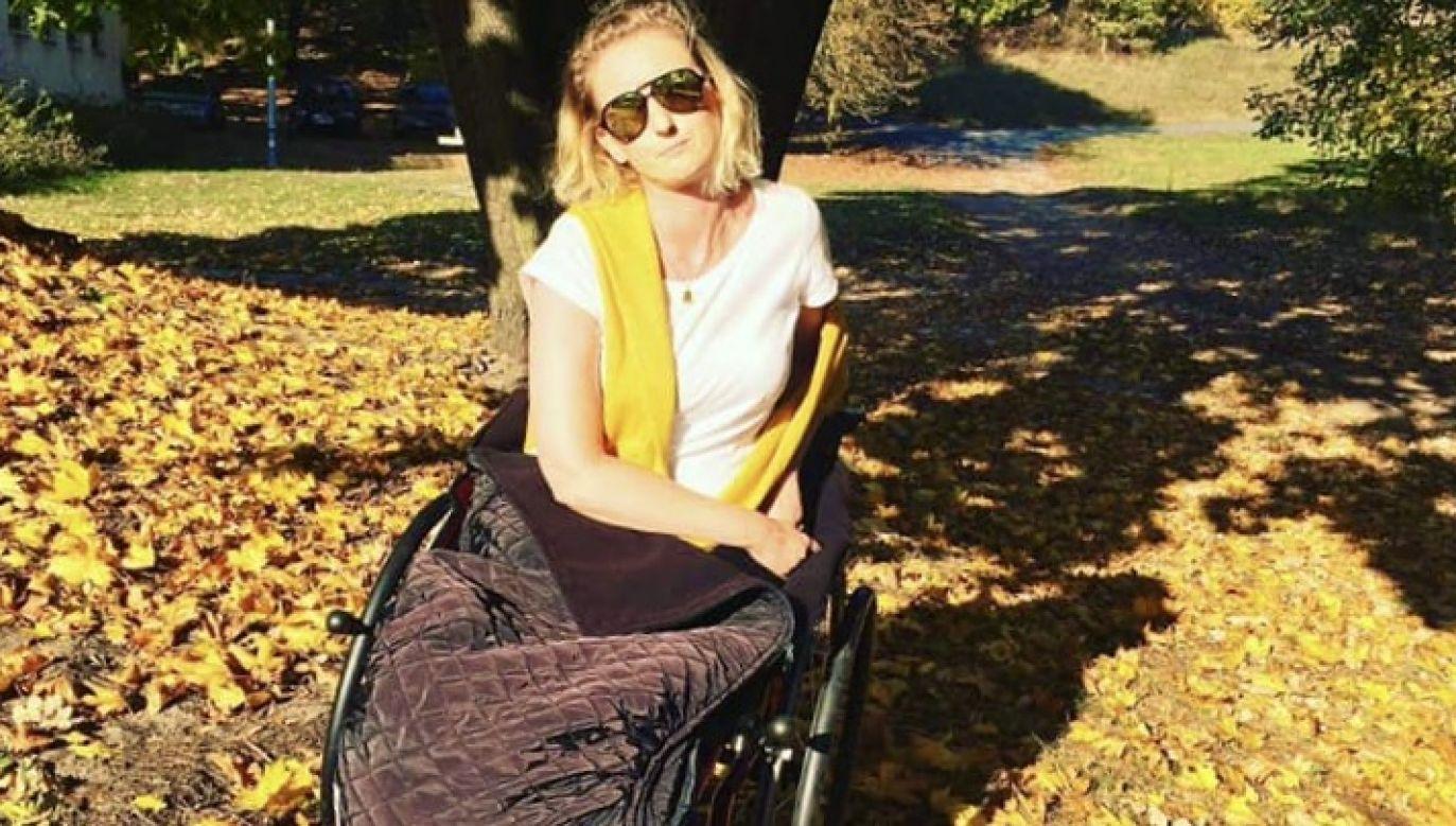 Wsparcie dla Anny Derewienko można przekazać na wskazany numer konta (fot. Fundacja Słowem w Świat)