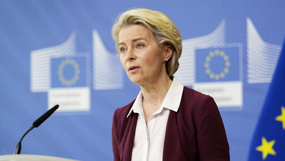 Unia musi zadbać o bezpieczeństwo swoich granic – podkreśla von der Leyen (fot. Thierry Monasse / Pool/Anadolu Agency via Getty Images)