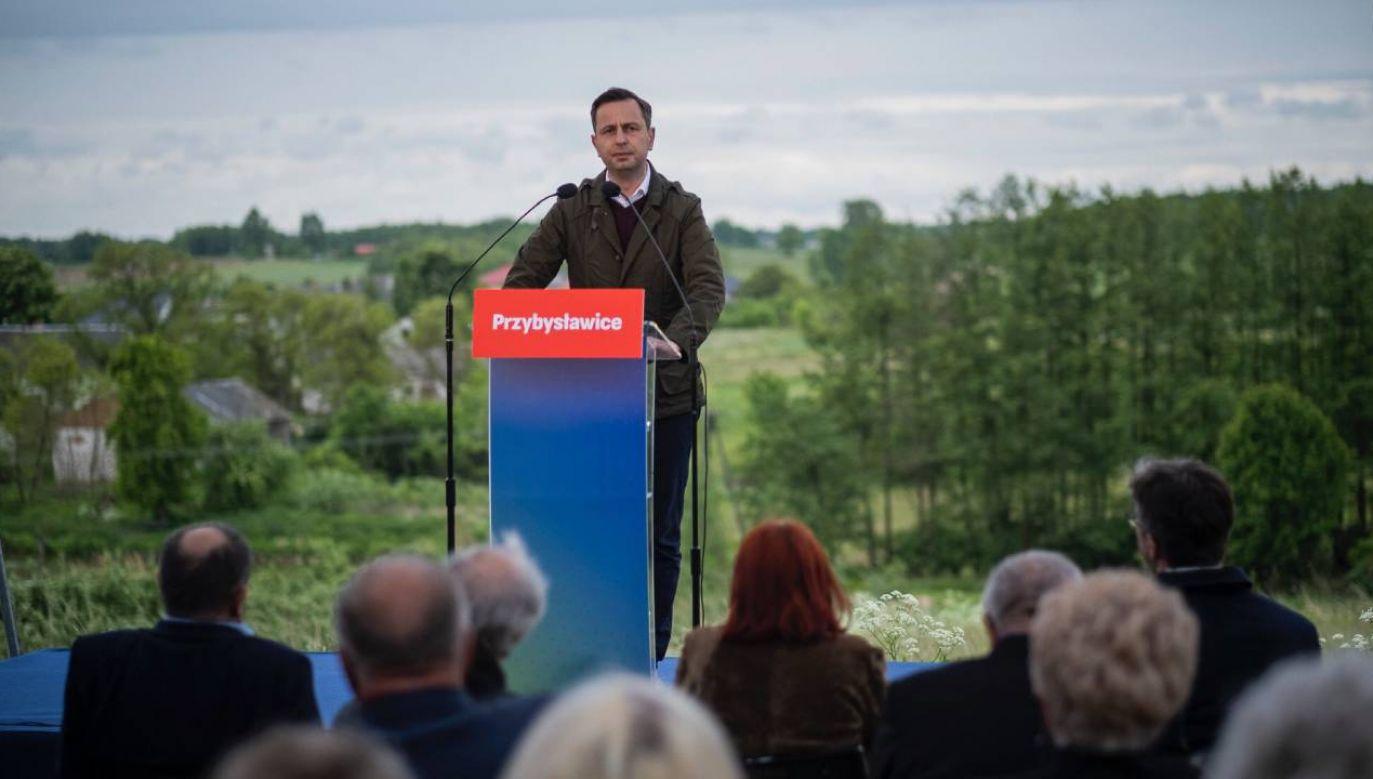 Prezes ludowców kontynuuje objazd po kraju (fot.TT/KosiniakKamysz)