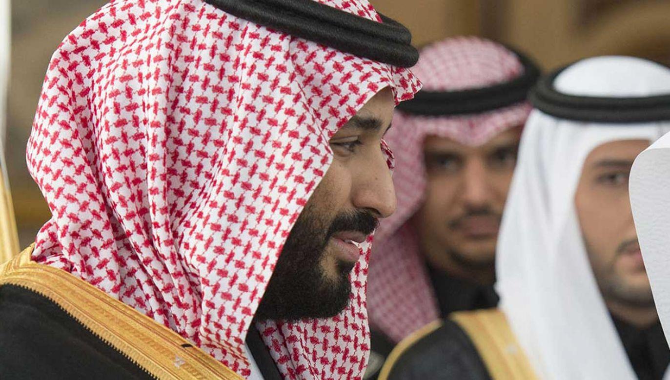 Mohammed bin Salman (fot.  Bandar Algaloud / Saudi Royal Council / Handout/Anadolu Agency/Getty Images)