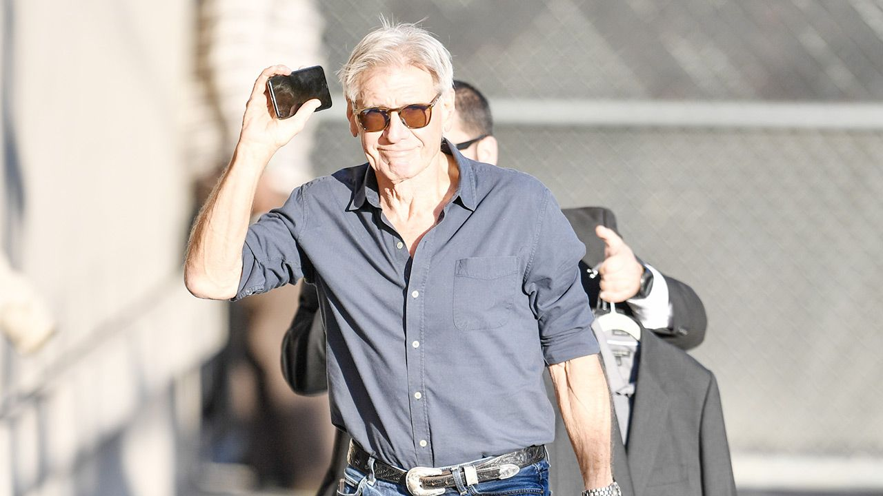 Harrison Ford (fot. PG/Bauer-Griffin/GC Images)