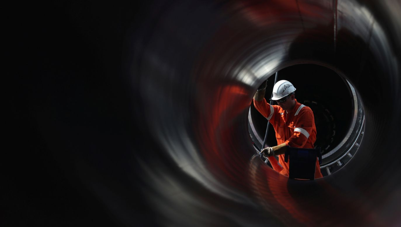 Budowa gazociągu Nord Stream 2 (fot. REUTERS/Anton Vaganov)