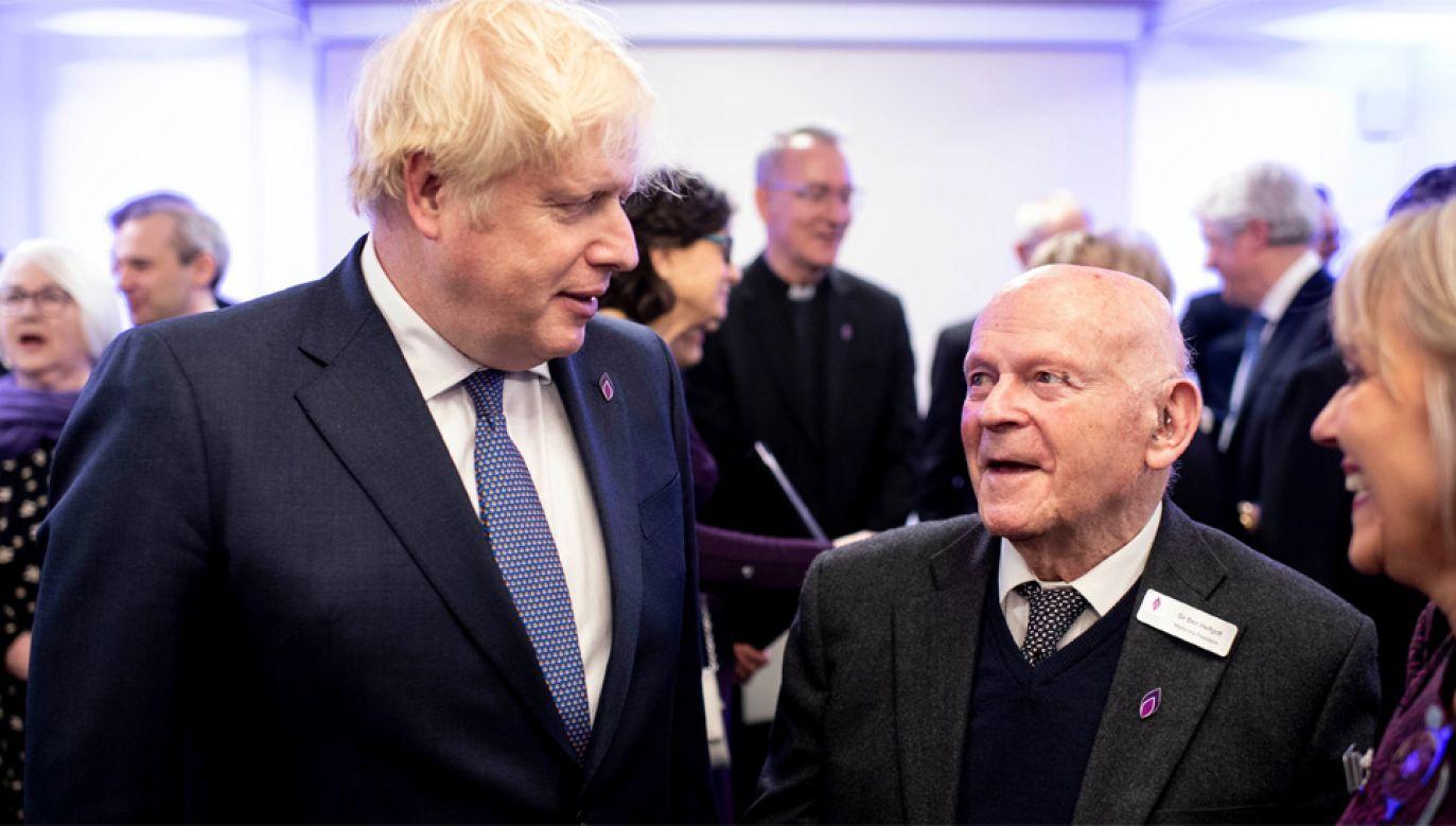 Premier Boris Johnson obiecał zwalczanie antysemityzmu w Wielkiej Brytanii (fot. TT/10DowningStreet)