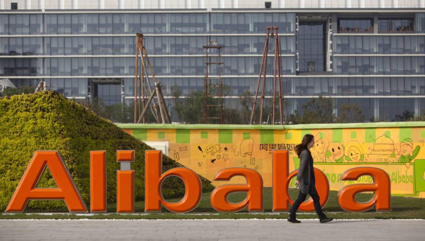 Siedziba koncernu Alibaba w prowincji Zhejiang w Chinach (fot. PAP/EPA/JEFF LEE)