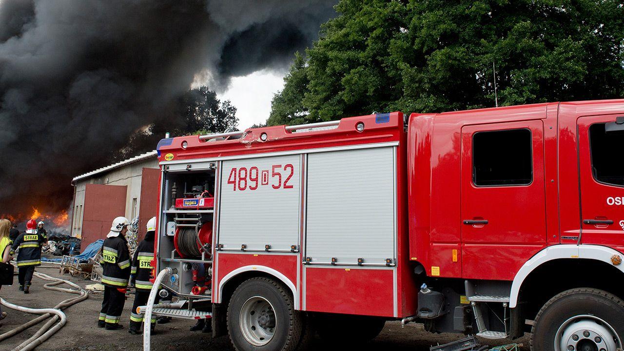 Akcja ratownicza trwała kilka godzin  (fot. Shutterstock/Dziurek; zdjecie ilustracyjne)