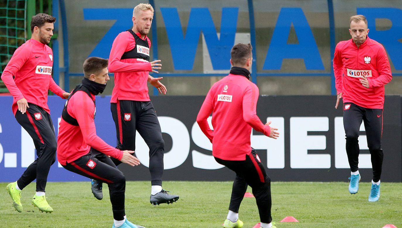 Kamil Grosicki wierzy w lepsze czasy dla reprezentacji Polski (fot. PAP/Leszek Szymański)