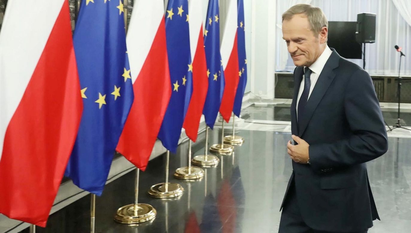Donald Tusk został poproszony o odtworzenie harmonogramu spotkań (fot. PAP/Tomasz Gzell)