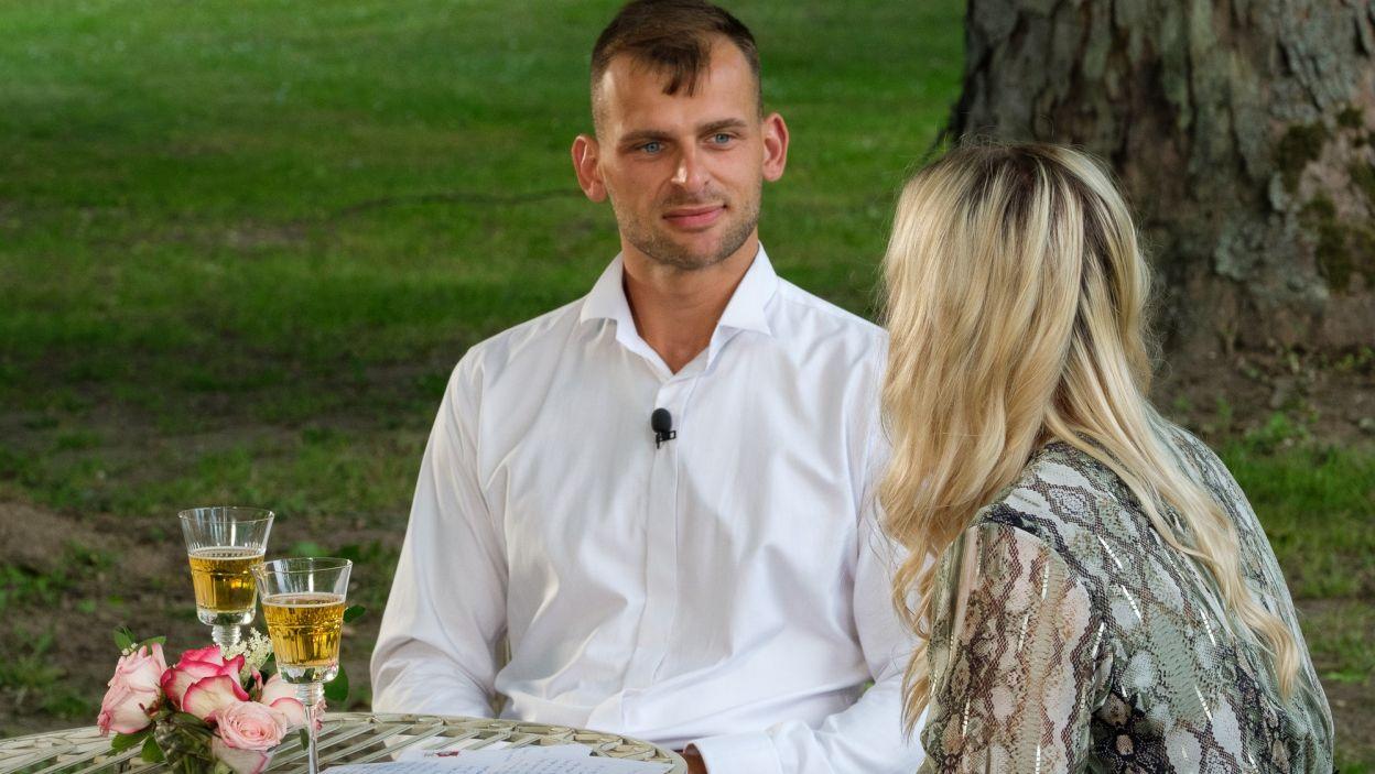 Adam zainteresował Magdę. – Bardzo fajna osoba. Ma wszystkie cechy odpowiednie – powiedziała po randce (fot. TVP)