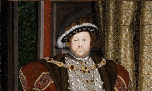 Król Anglii Henryk VIII (1491-1547) na portrecie Hansa Holbeina Młodszego. Fot. Wimimedia