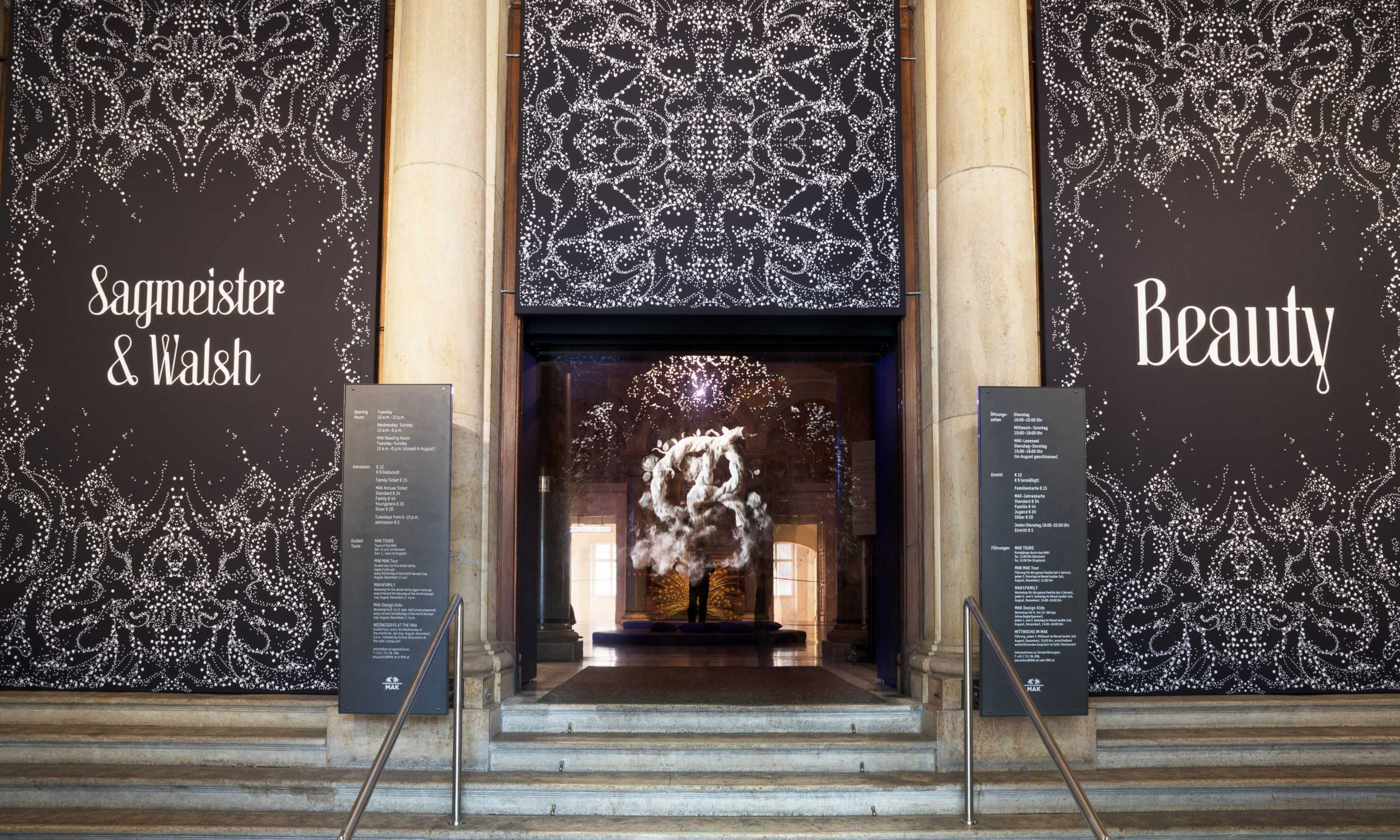 Ekspozycję przygotowali Stefan Sagmeister i Jessica Walsh. Fot. MAK DESIGN LAB © Aslan Kudrnofsky/MAK