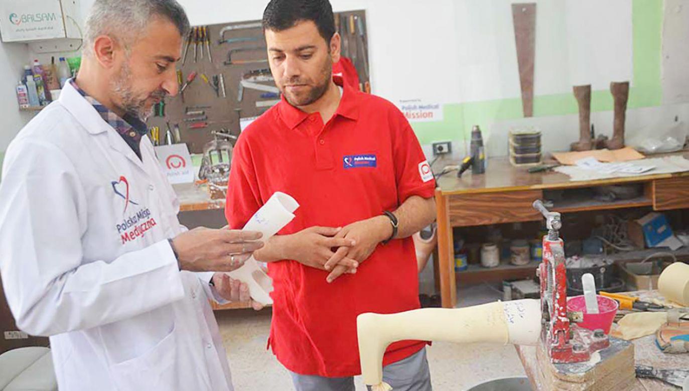 W ocenie ministra ds. pomocy humanitarnej Michała Wosia ten projekt to skuteczna pomoc ofiarom w miejscu konfliktu (fot. Polska Misja Medyczna)
