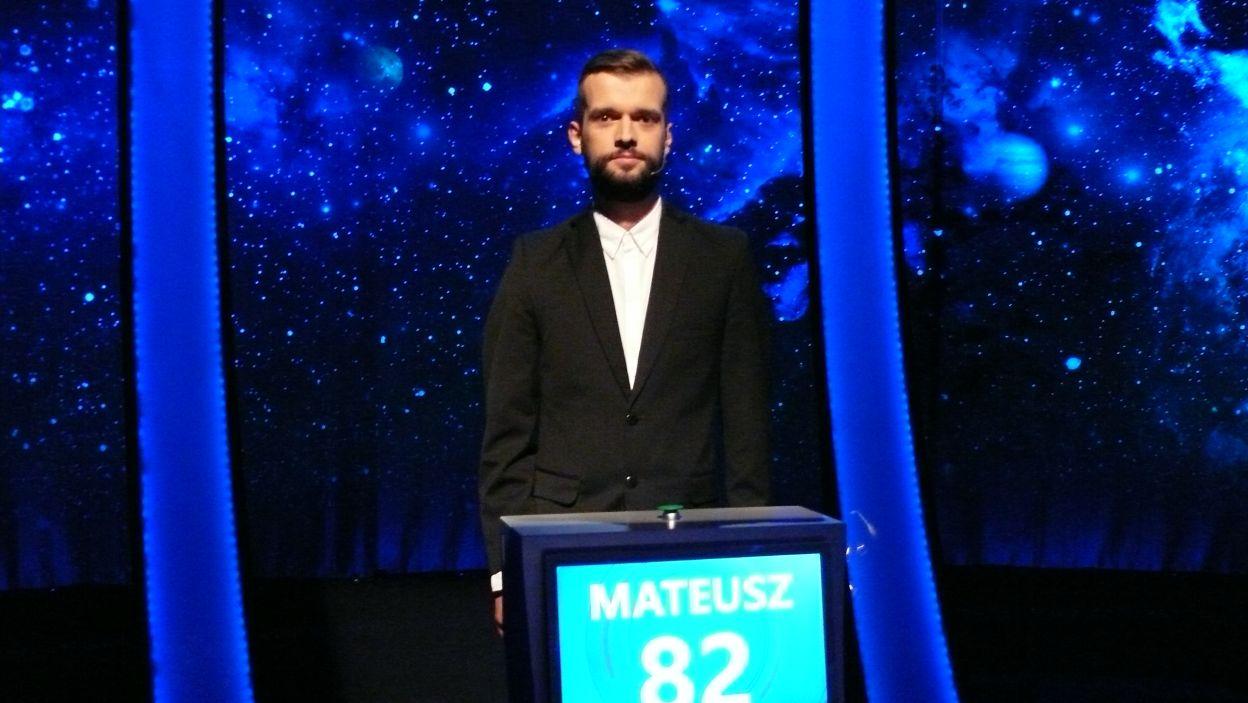 Mateusz Geisler -zwycięzca 13 odcinka 115 edycji