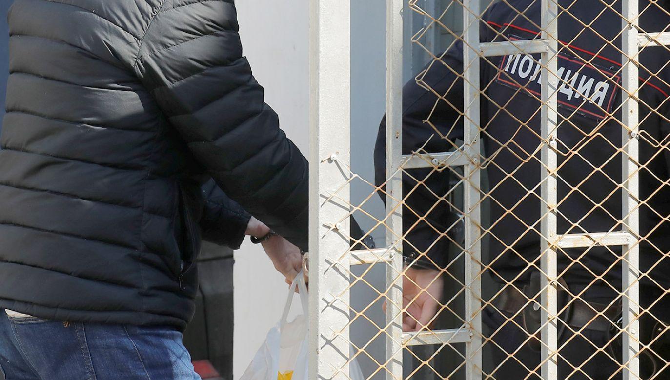 Proces toczył się za zamkniętymi drzwiami (fot. REUTERS/Maxim Shemetov)
