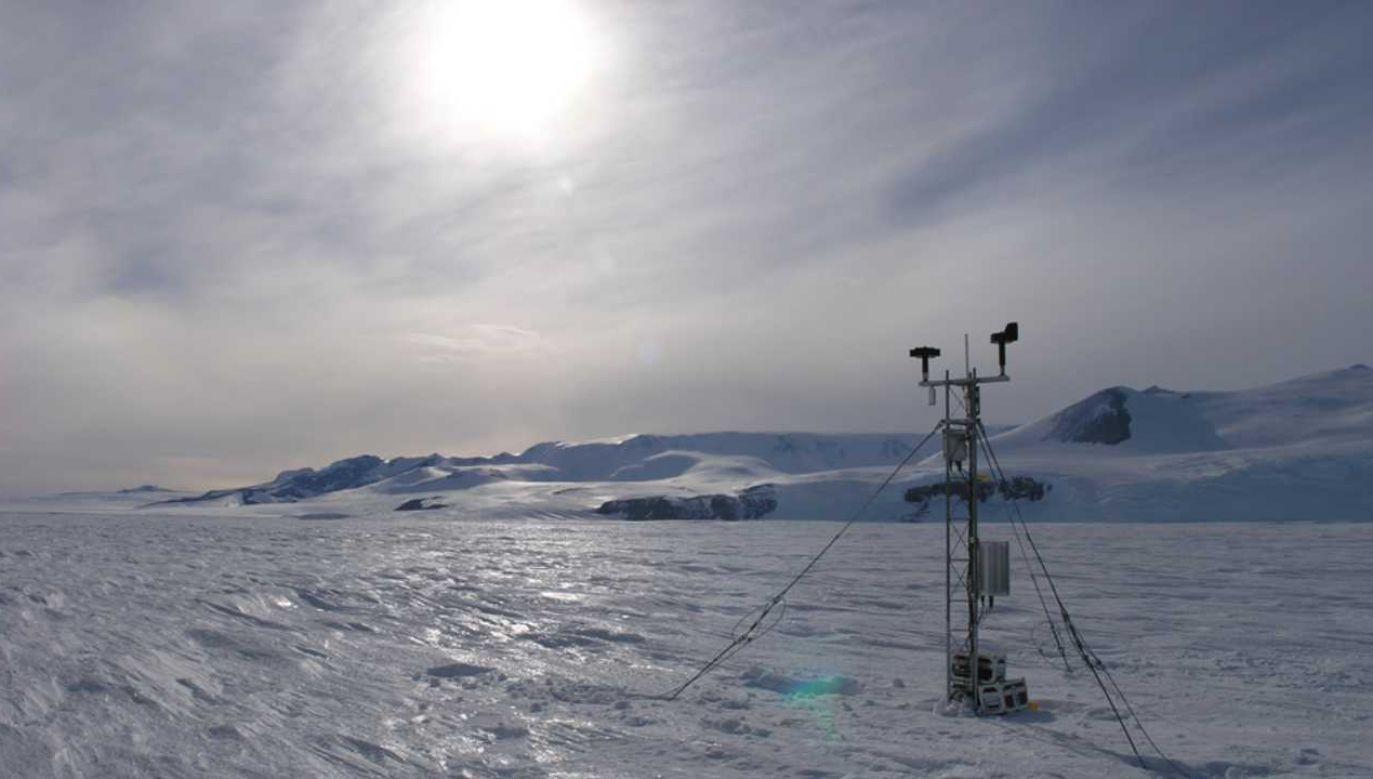 Rekord Półkuli Północnej zarejestrowano na Grenlandii (fot. WISC.edu)