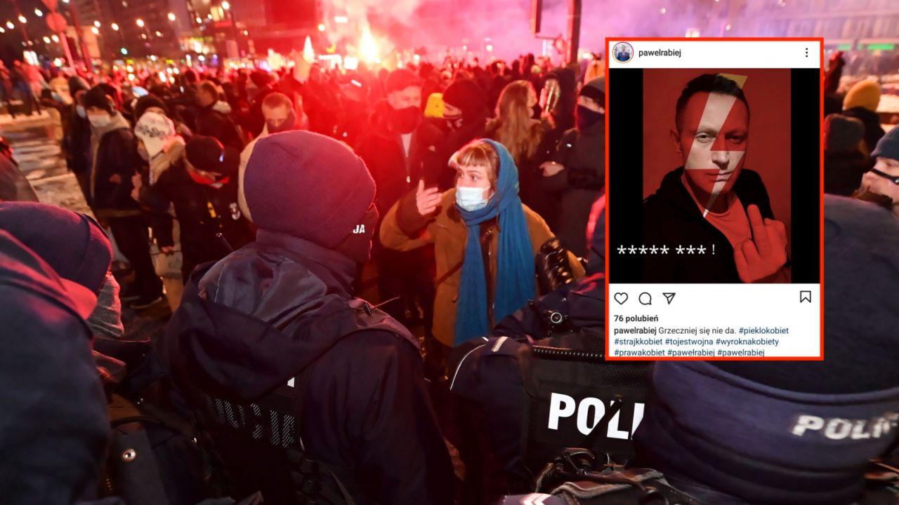 Strajk Kobiet wraca po uzasadnieniu wyroku TK (fot. PAP/Piotr Nowak, instagram.com/pawelrabiej)