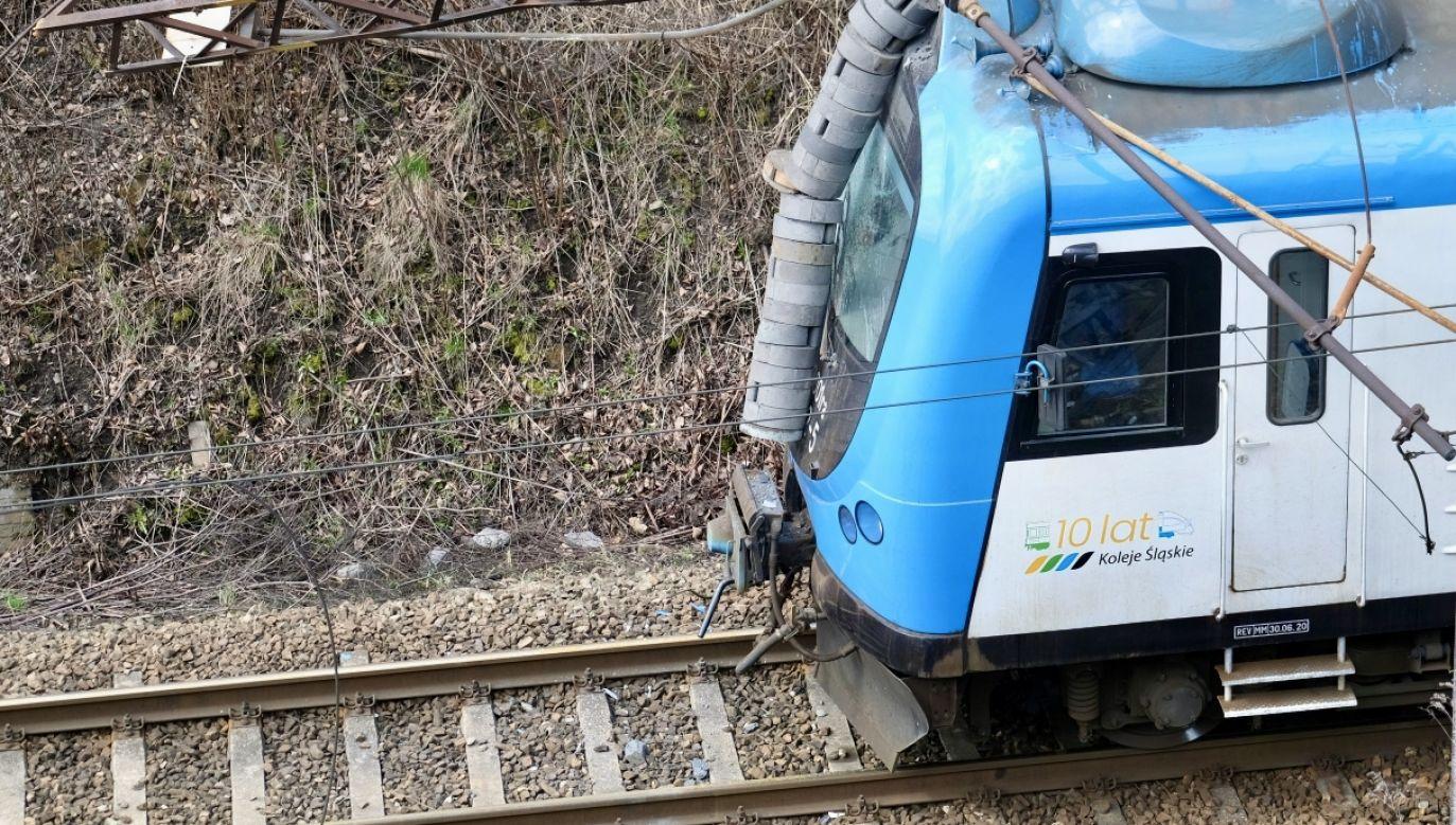 Kolejnemu wypadkowi na kolei zapobiegła interwencja SOK (fot. PAP/A.Grygiel, zdjęcie ilustracyjne)