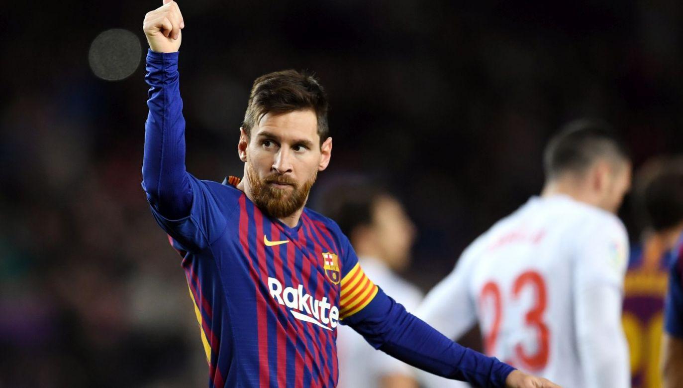Leo Messi (fot. Getty)