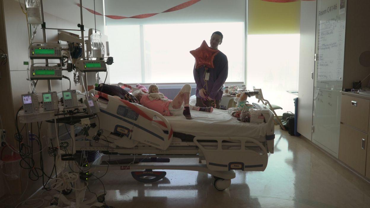 Rozpoczyna się trudna i długa walk, aby dać Zuzi nowe życie, bez ran i bólu (fot. materiały prasowe)