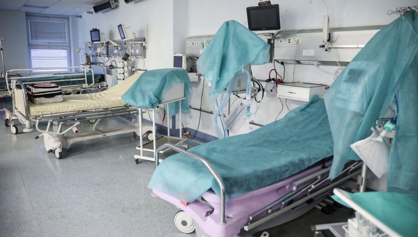 Trwa szukanie lokalizacji dla drugiego, po Stadionie Narodowym, szpitala polowego w stolicy (fot. PAP/Leszek Szymański)