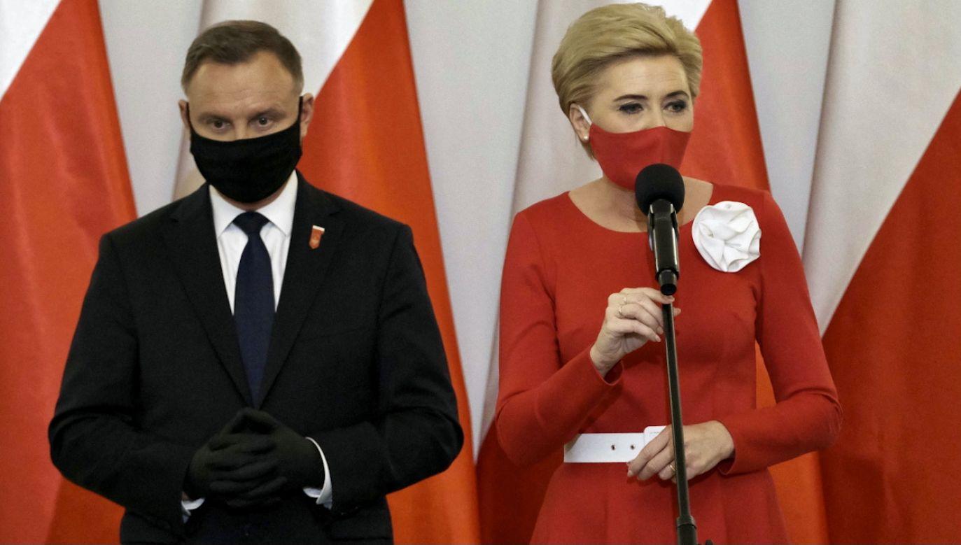 Para prezydencka (fot. PAP/M.Marek)