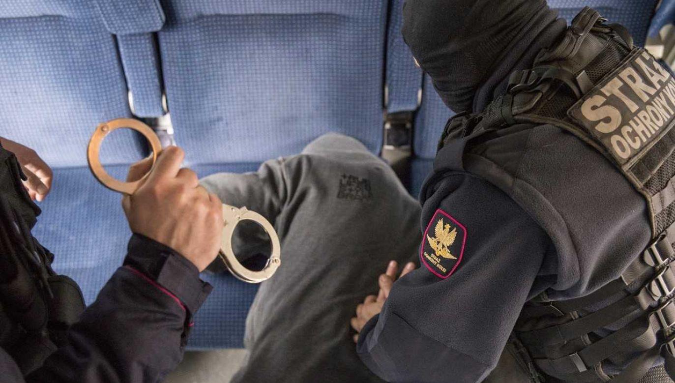 Funkcjonariusz SOK cudem uniknął śmierci (fot. SOK)
