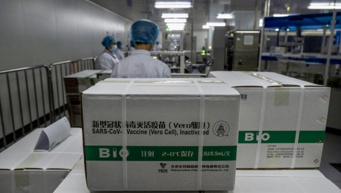Xi Jinping rozmawiał na temat szczepionek z Andrzejem Dudą (fot. Kevin Frayer/Getty Images)