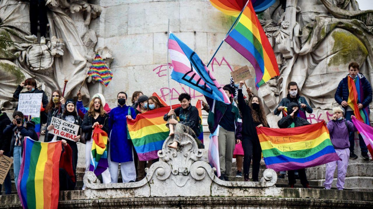 Marsz LGBT w Tours został odwołany (fot. J.Gilles/NurPhoto/Getty Images)