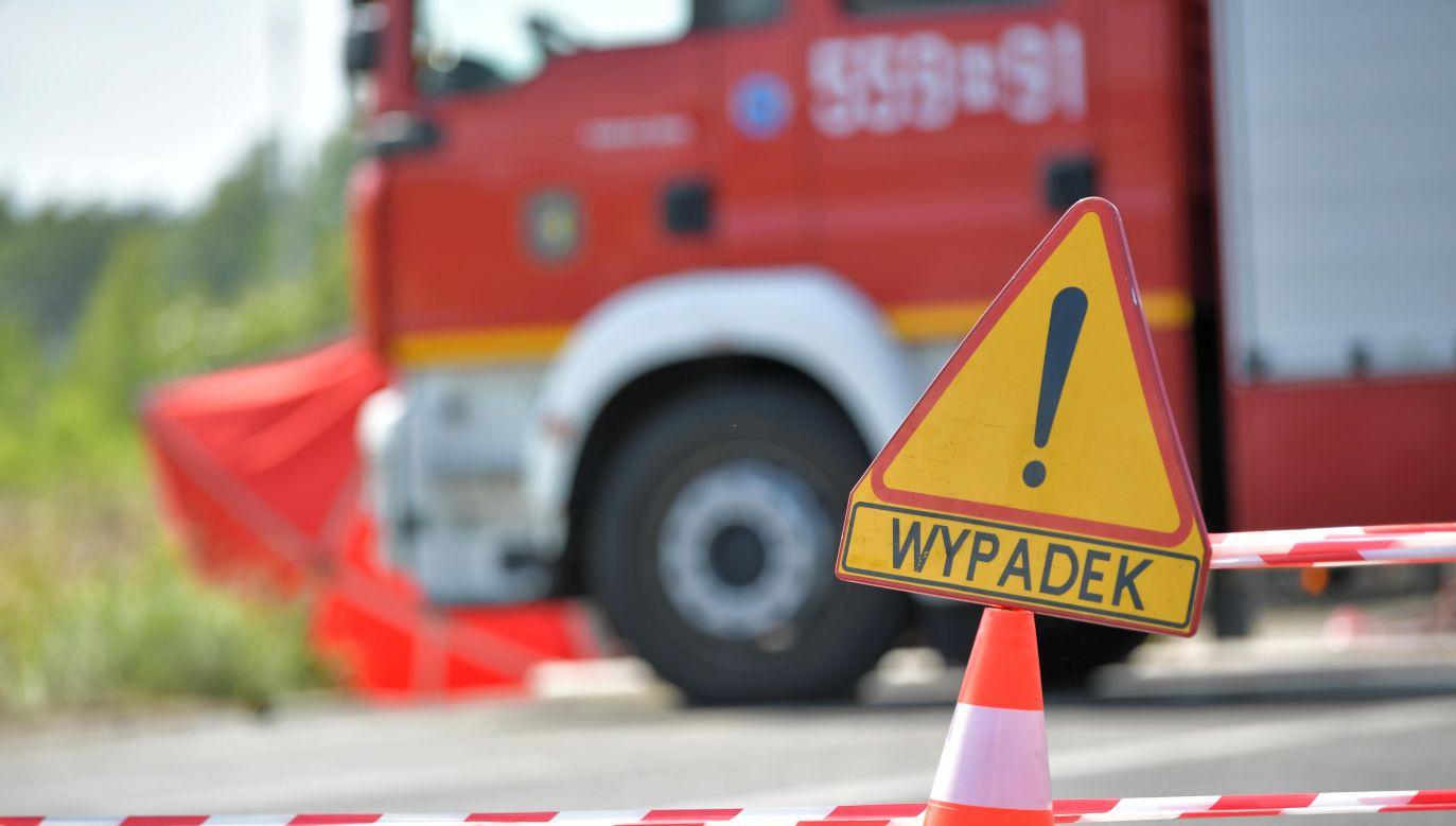 Dwa pasy w obu kierunkach zostały zablokowane (fot. arch. PAP/Przemysław Piątkowski)