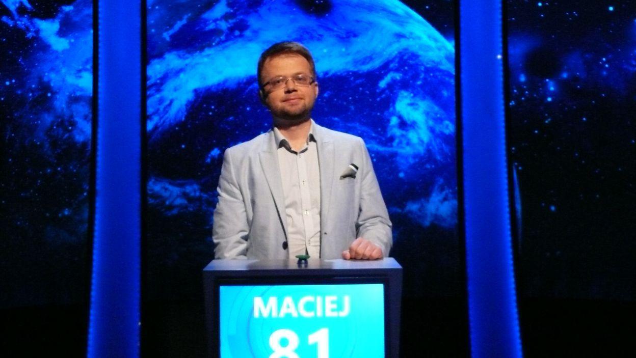 A krótką chwilę później poznajemy zwycięzcę 9 odcinka 114 edycji Pana Macieja Jarczyka