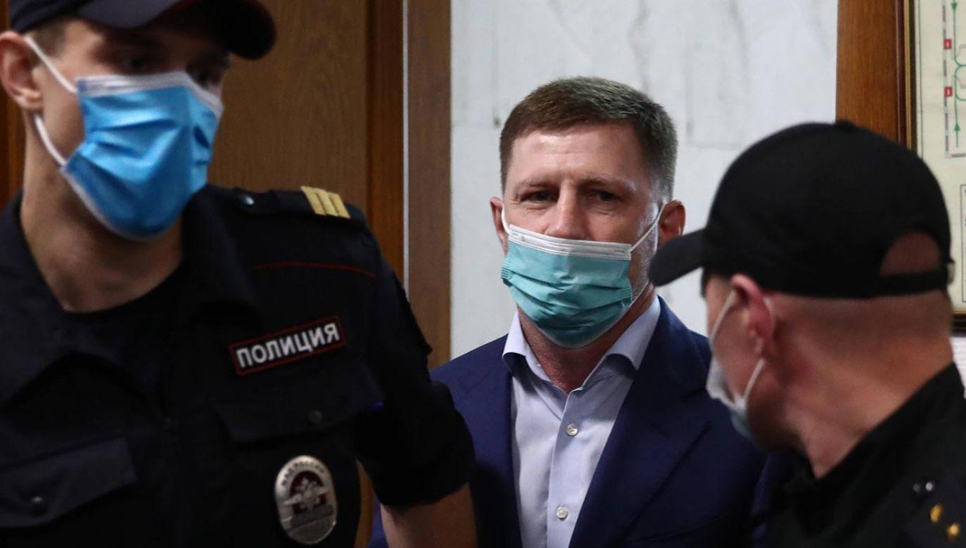 W ocenie części mieszkańców Kraju Chabarowskiego, Siergiej Furgał jest niewinny (fot. PAP/ITAR-TASS)
