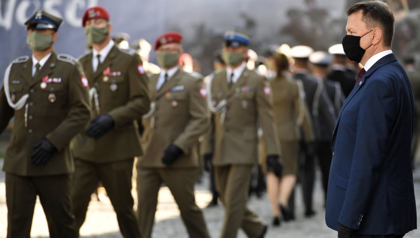 Mariusz Błaszczak jest ministrem obrony narodowej od 2018 roku (fot. PAP/Piotr Nowak)