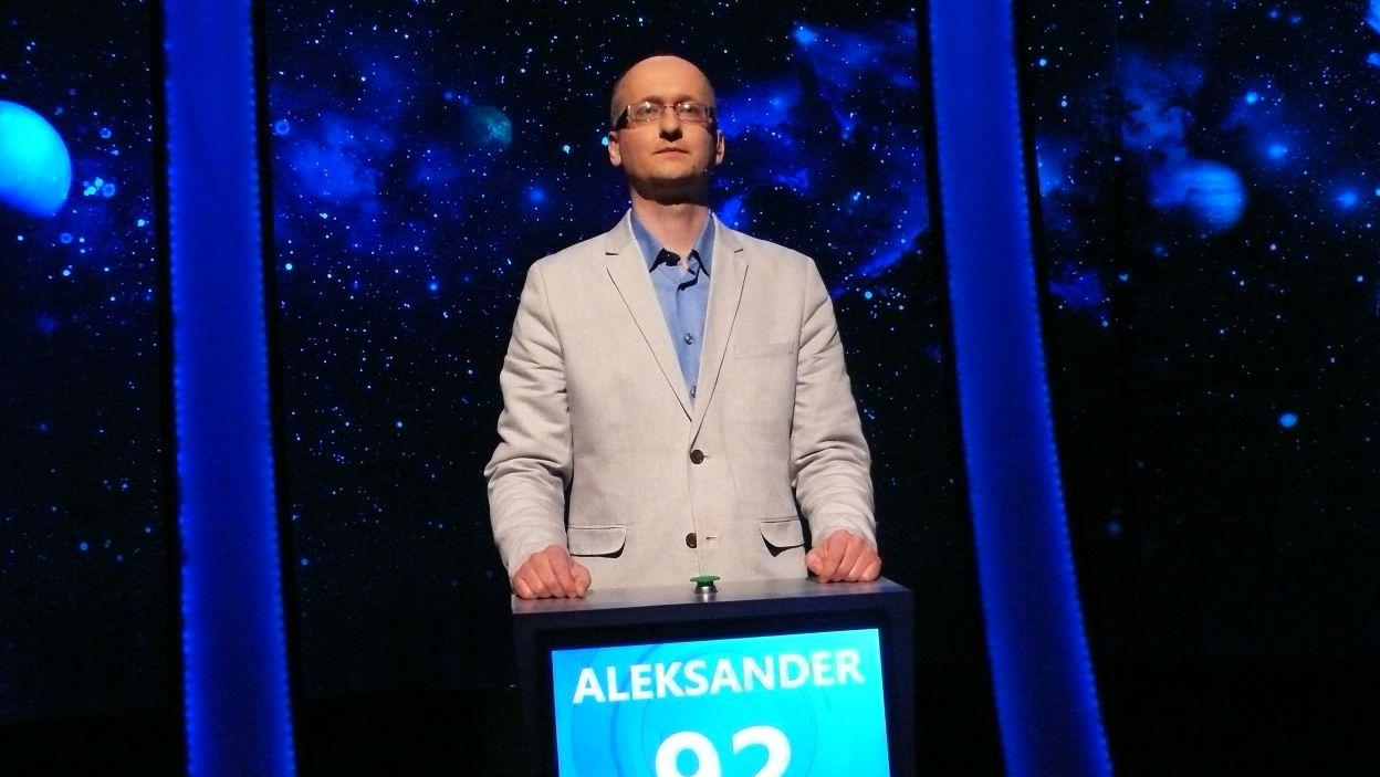 Zwycięzcą 17 odcinka 113 edycji został Pan Aleksander Meresiński