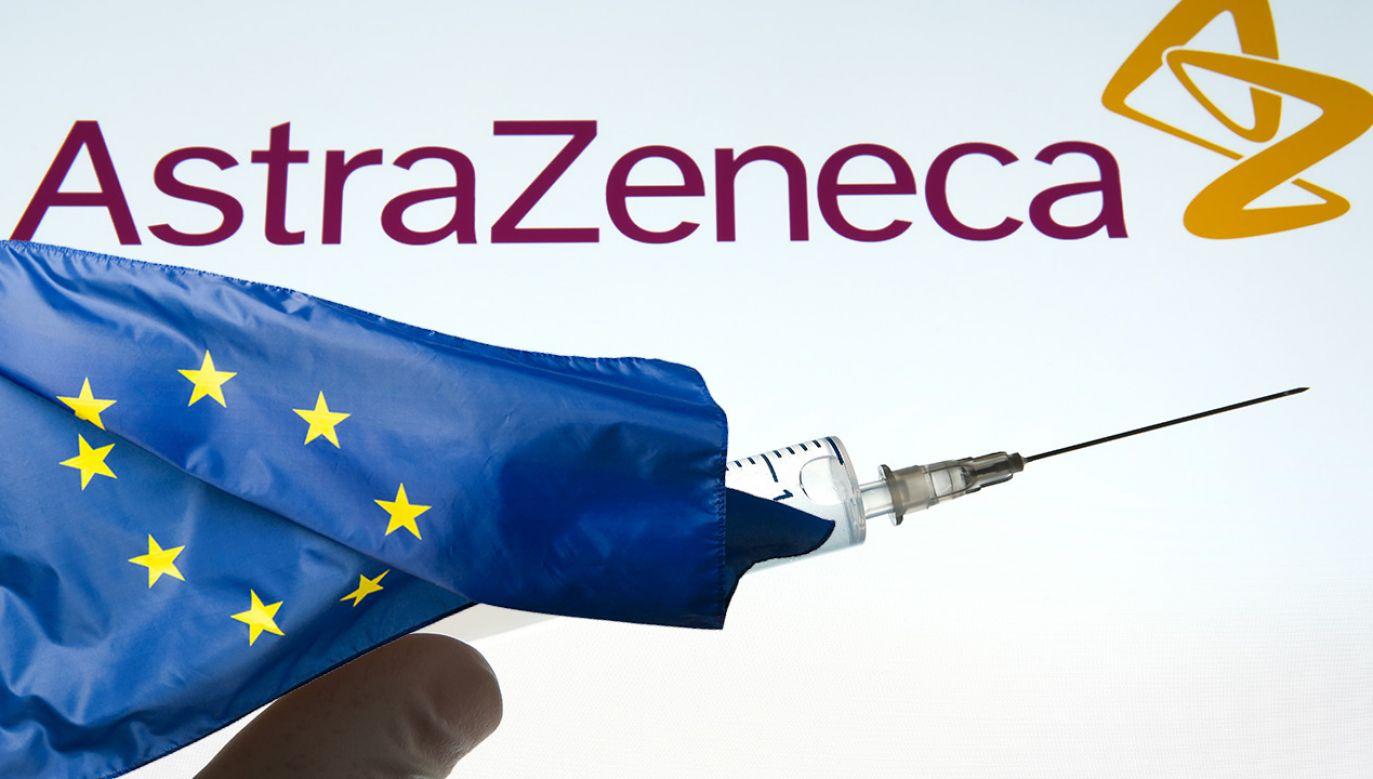 Badane są bada możliwe efekty uboczne szczepionki firmy AstraZeneca (fot. Shutterstock)