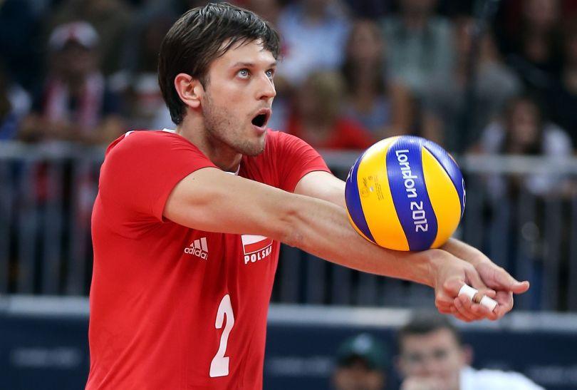 Michał Winiarski, przyjmujący reprezentacji Polski (fot. Getty Images)