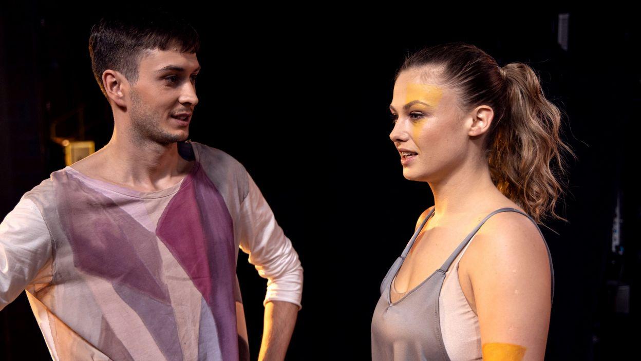 """– To jest niewykonalne – tak Ania oceniła choreografię do """"Somebody That I Used To Know"""" na próbie (fot. TVP)"""