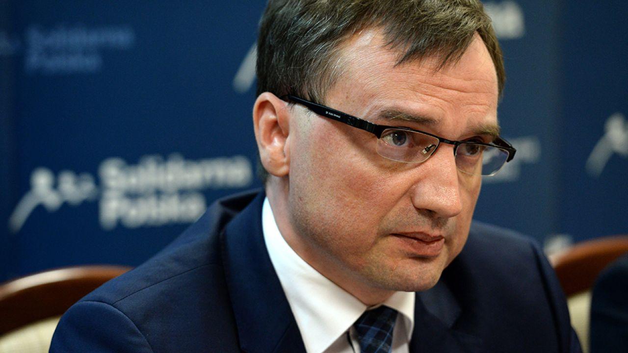 Minister sprawiedliwości Zbigniew Ziobro (fot.arch.PAP/Piotr Polak)