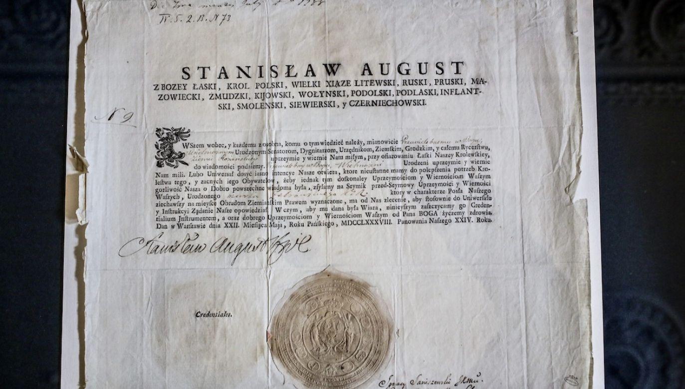 Uchwalenie Konstytucji 3 Maja zostało uznane przez jej zwolenników za moment kluczowy w realizowanym od początku panowania Stanisława Augusta Poniatowskiego programie reform (fot. arch.PAP/Leszek Szymański)