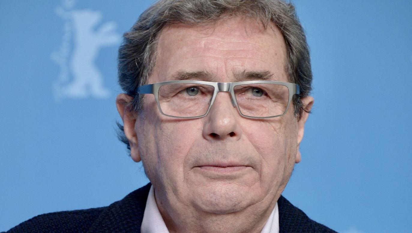Pozytywnie Janusz Gajos wypowiadał się na temat Rafała Trzaskowskiego (fot. Dominique Charriau/WireImage/Getty)