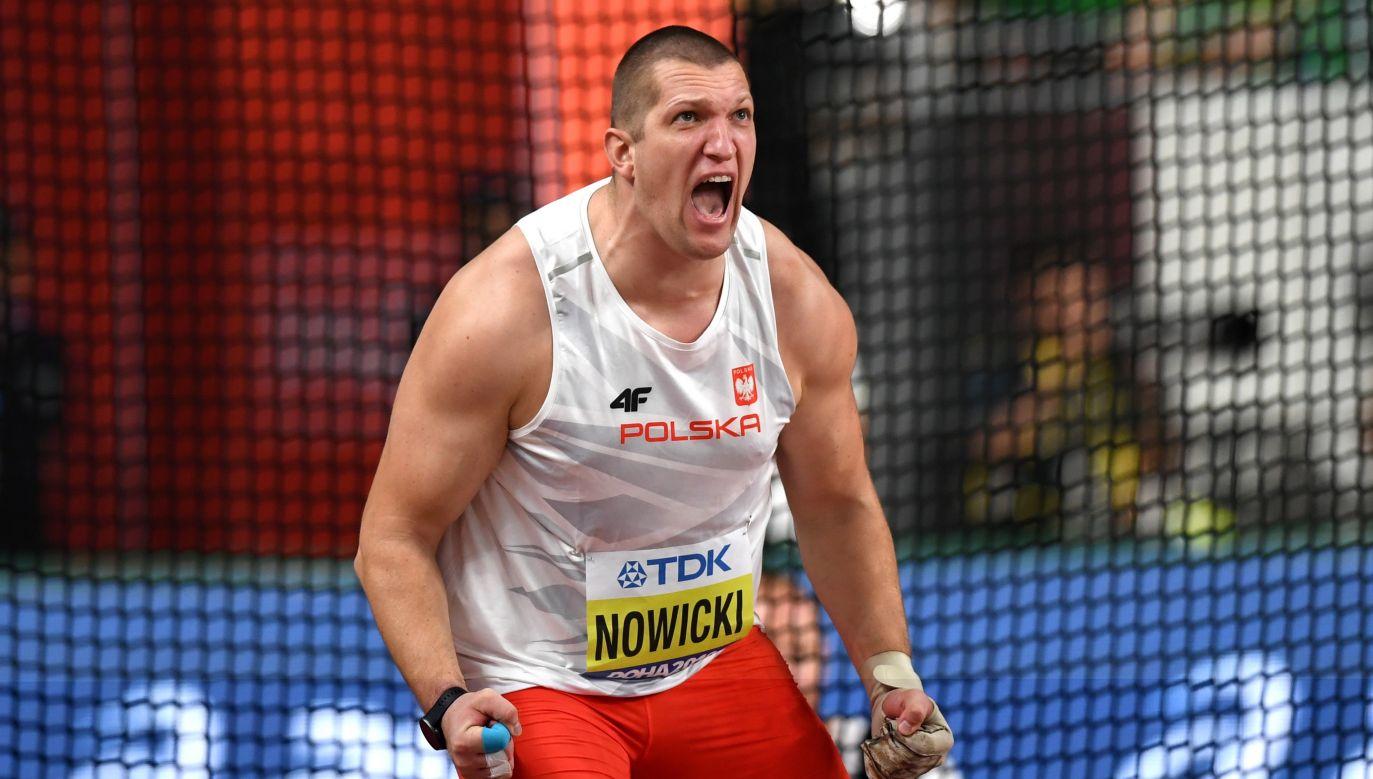 Wojciech Nowicki wróci do Polski z brązem mistrzostw świata (fot. PAP)