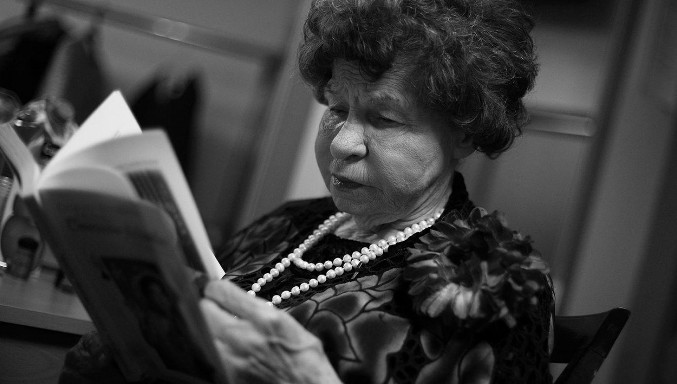 Stoyanka Mutafowa zmarła w wieku 97 lat (fot. Reuters/Stoyan Nenov)