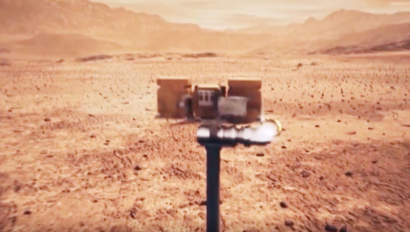 Łazik wysłał zdjęcia z Marsa (fot. China National Space Administration (CNSA))