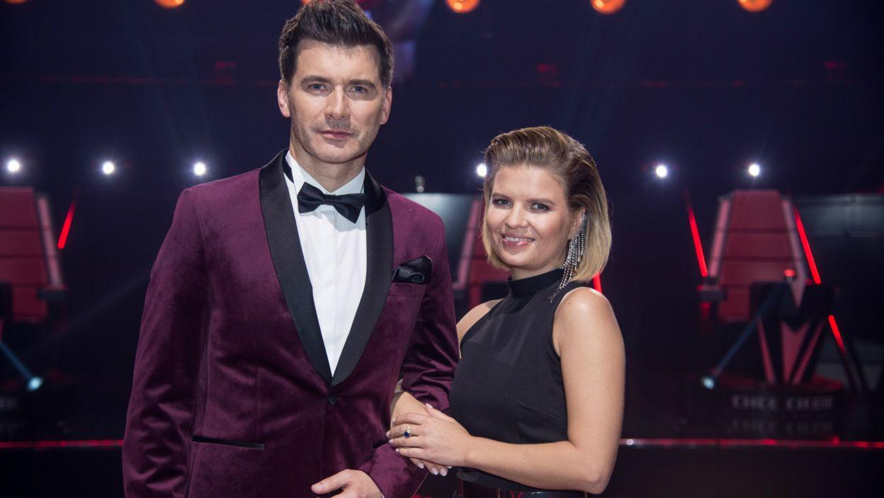Program poprowadzili Marta Manowska i Tomasz Kammel (fot. TVP/Jan Bogacz)