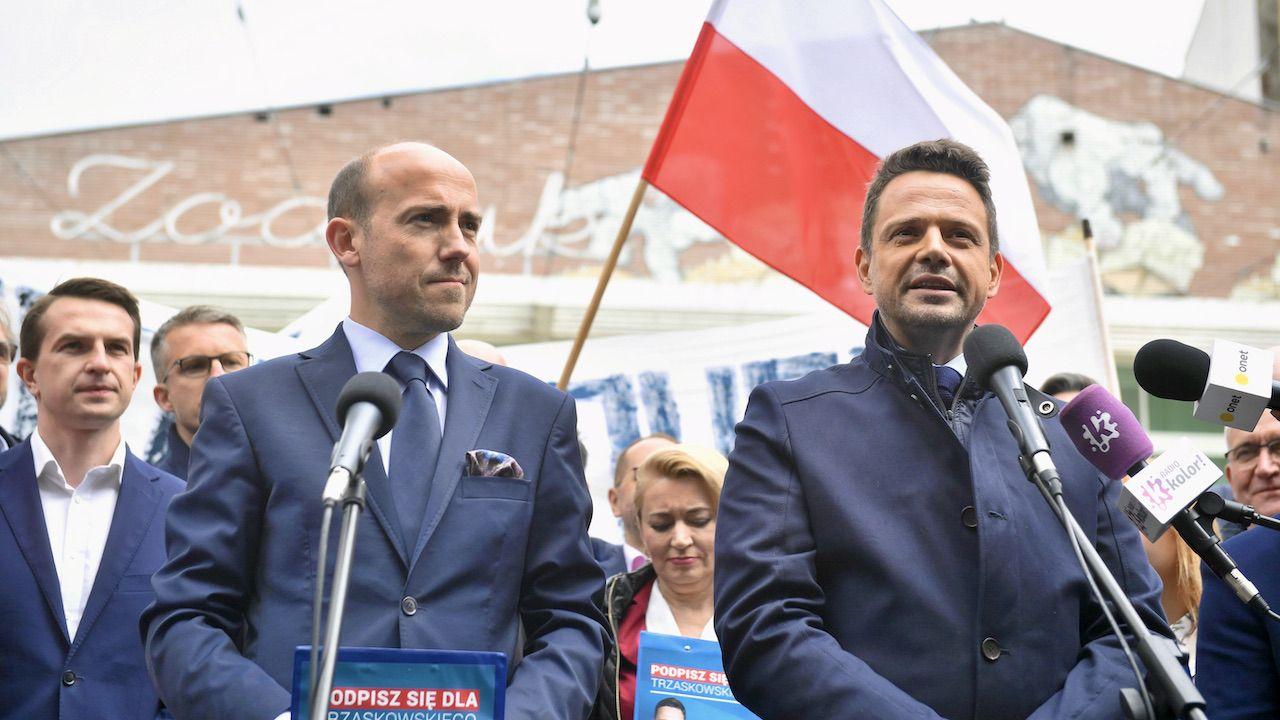 Budka zbierał podpisy z Trzaskowskim. Dziś zdaje się wątpić w jego ruch społeczny (fot. arch.PAP/Radek Pietruszka)