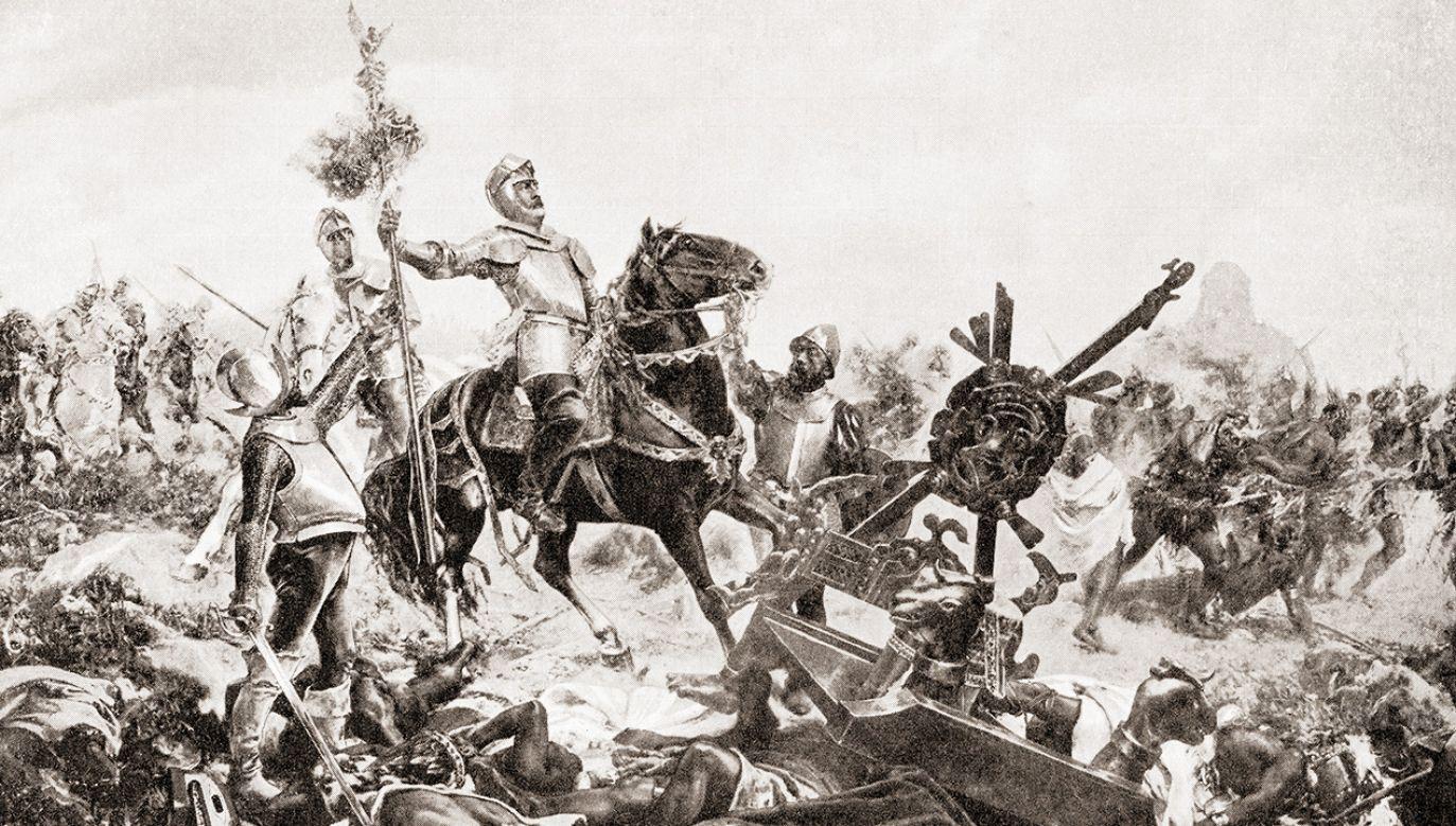 Konkwistadorzy okazują się prawdomówni (fot. Universal History Archive/Universal Images Group via Getty Images)