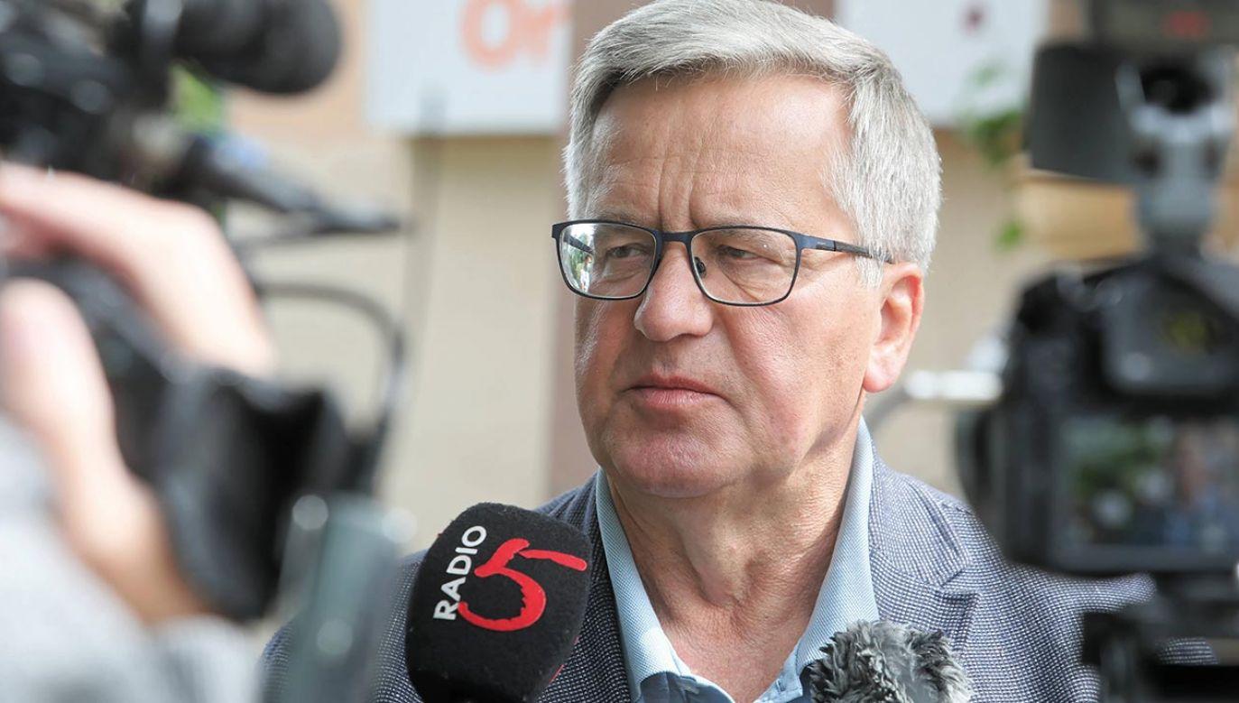 Nowa inicjatywa Komorowskiego (fot. PAP/Artur Reszko)