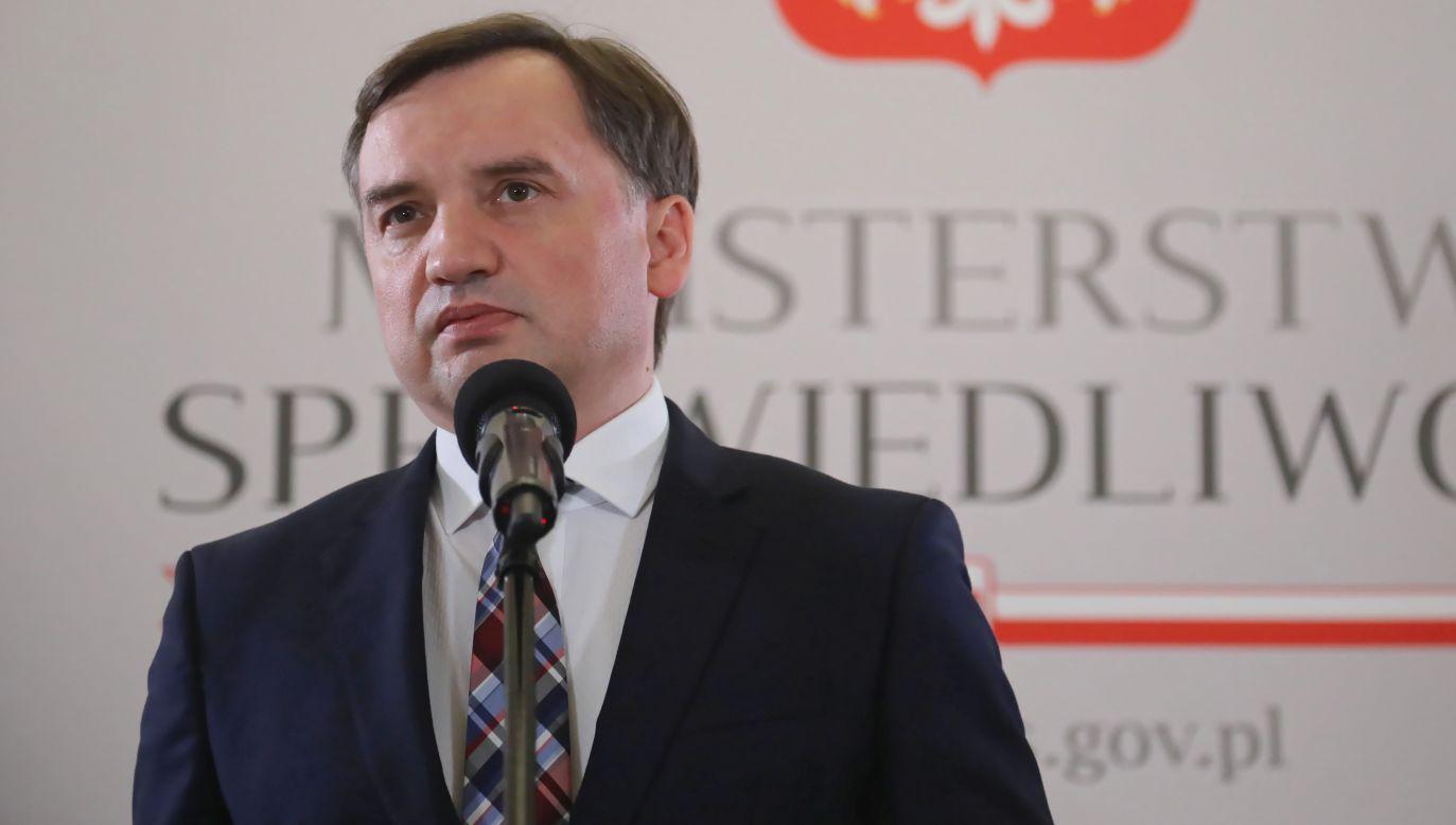 Zbigniew Ziobro (fot. PAP/Wojciech Olkuśnik)