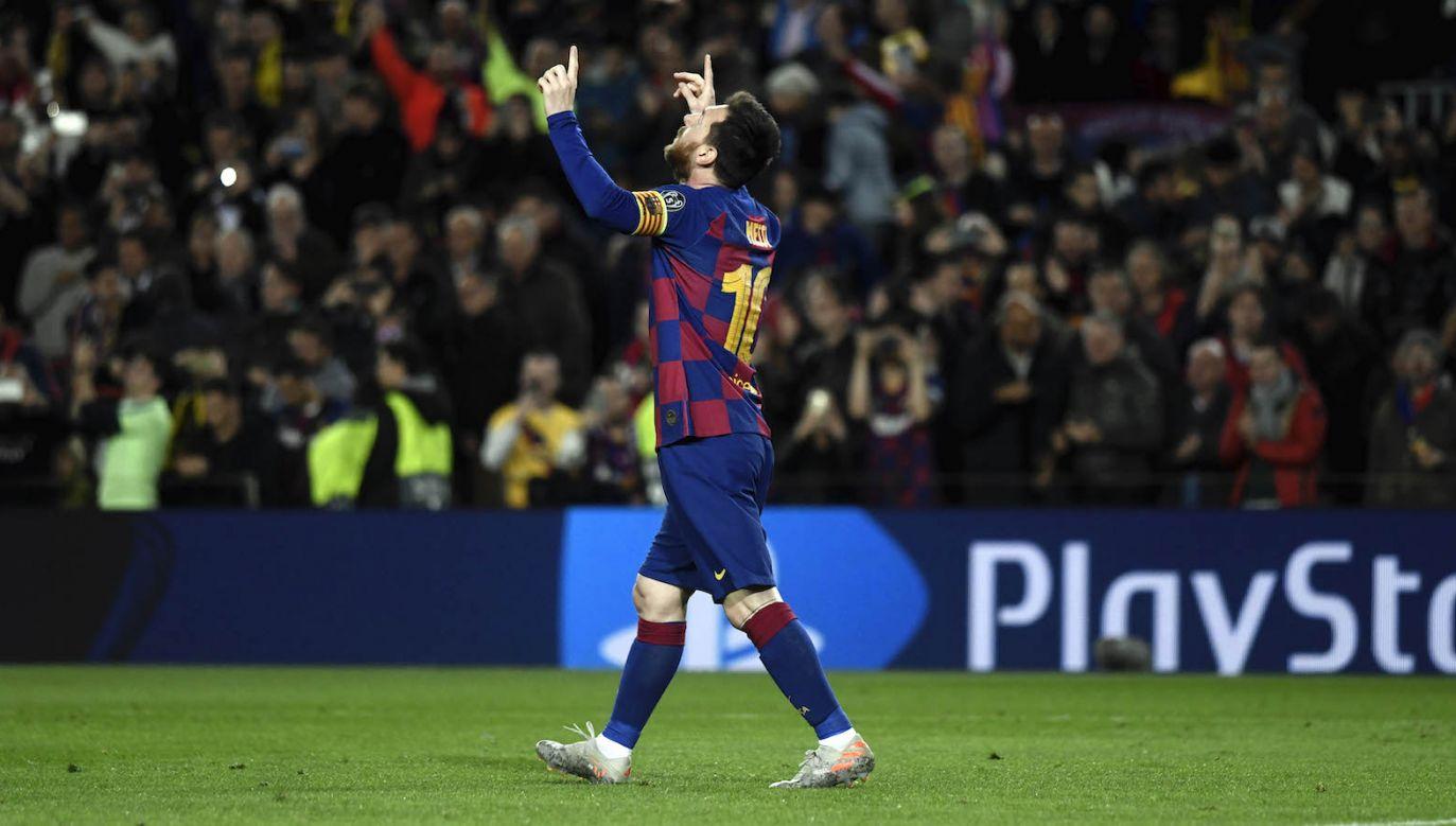 FC Barcelona zagra z Napoli u siebie (fot. Getty)