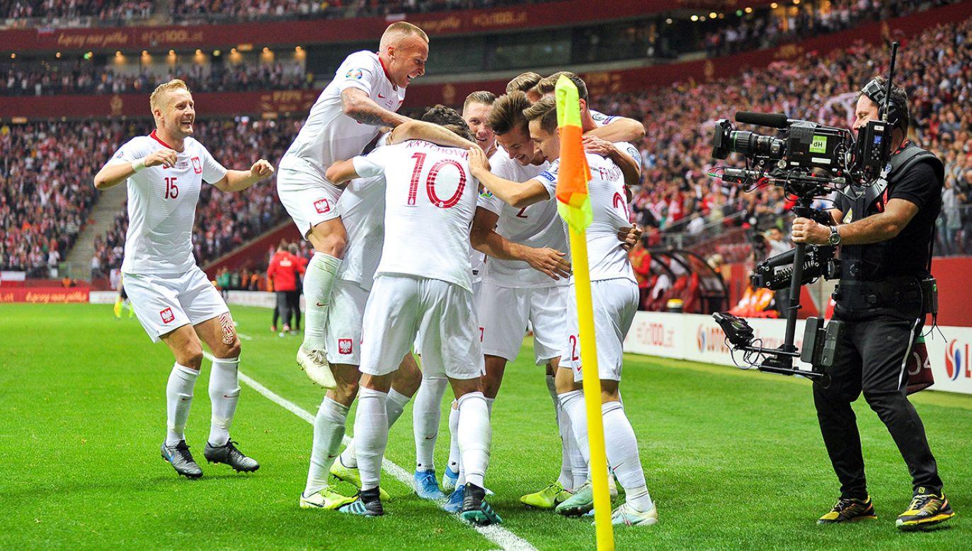 Polscy piłkarze zagrają w sobotę z Izraelem. (fot. PressFocus/MB Media/Getty Images)